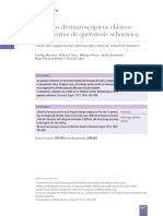 DERMATOSCOPIA Criterios dermatoscópicos clásicos y accesorios de queratosis seborreica