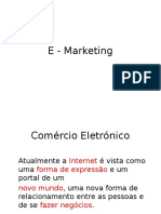 E - Marketing