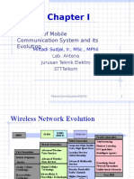 1-Cp I Overview of Mobile Comm. and Its Evolution