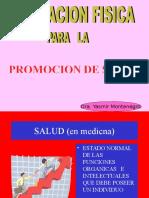 Promocion de Salud. Generalidades