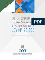 0209 2016 07 GUIA Declaracion Intereses y Patrimonio Ley 20880 25082016