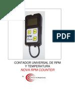1-Manual de Usuario Nova Rpm Counter