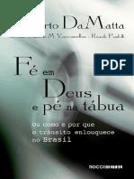 Fe Em Deus e Pe Na Tabua - Roberto DaMatta