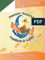 Arquidi+¦cesis de Acapulco - Manual para Semana Vocacional