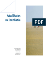 Natural Disasters and Desertification