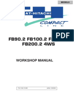 Fiat Hitachi Fb90 2 Fb100 2 Fb110 2 Fb200 2 Service Manual