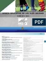 Oferta Educativa de Les Illes Balears
