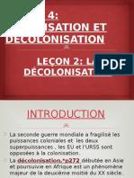 LA GUERRE D'ALGERIE UN EXEMPLE DE DECOLONISATION