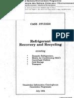 Recuperación y reciclaje de refrigerantes. Casos de Estudio .pdf