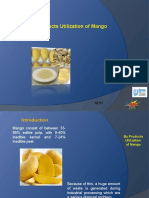 By Products Utilization of Mango 0