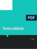 Procesos unilaterales