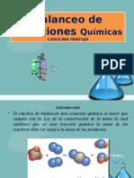 Clase Balanceo y reacciones quimicas