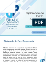 Diplomado de Excel Empresarial