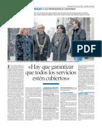 """""""Empleo de calidad y garantía de movilidad es el mejor incentivo"""" (Merche Ortín, CesmAragón)"""