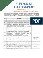 Cronograma Renovacion Contrato 2017