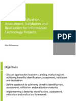 Benefits Identification, Assessment, Validation and ion for Information Technology Projects