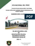Silabo de Deontologia Policial - 2016....Corregido(Revisar)