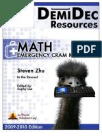 Math Cram Kit