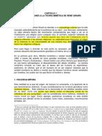 Reseña de Certeau sobre Mimética de Girard