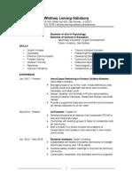 01-29-17 Resume