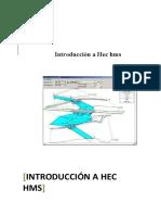 Introducción Hec Hms