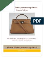 Manual Básico Para Marroquinería