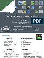 Normas ANSI Movilidad Electrica