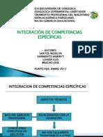 Diapositivas Integración de Competencias Específicas - Grupo 04