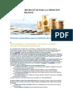 Administracion - Finanzas Corporativas Para La Medición de La Rentabilidad