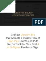 Anatomy of a Client Attraction Bio