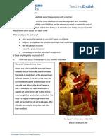 Romeo and Juliet - Worksheet