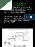 Presentacion sobre cortes en planos
