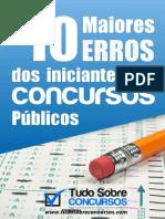 10 MAIORES ERROS DOS INICIANTES EM CONCUROS.pdf