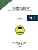 Skripsi - Efektifitas Pemanfaatan Media Gambar Pada Pembelajaran Shalat