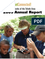 Metroparks Annual Report 2009