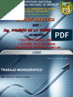 Distribuciones y Estimacion