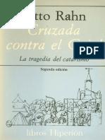 Rahn - La Tragedia Del Catarismo