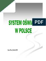 Prezentacja 01 System Oświaty w Polsce