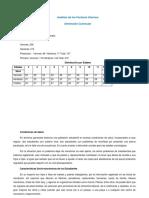 Análisis de Los Factores Internos Dimensión Curricular