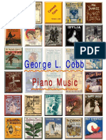 Cobb George Linus. Piano Music. 58 Scores + midi