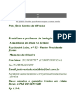 MANUAL DO PASTOR