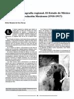 El Estado de Mexico y La Revolucion Mexicana 1910-1917