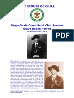 Biografa de Lady Olave Baden Powell