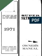 POH Cessna Skymaster-337