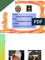 Delincuencia Policial