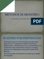 METODOS de MUESTREO