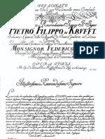 6 Flute Sonatas - Platti
