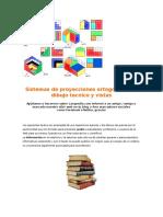 Sistemas de Proyecciones Ortogonales en Dibujo Tecnico y Vistas