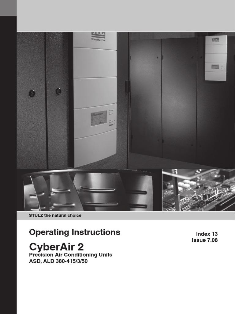 10.09.02.01 - CyberAir 2 - Manual Tecnico Antigo Ing Desb | Air Conditioning  | Heat Exchanger