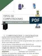 Tipos de Computadoras  (TIC)